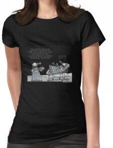 PSYCHOANALYSIS OF A DALEK Womens Fitted T-Shirt