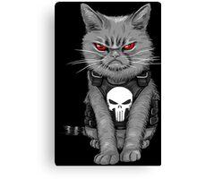Cat comic Canvas Print