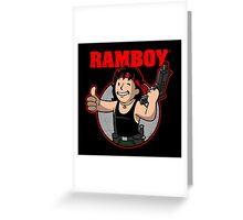 Ramboy Greeting Card