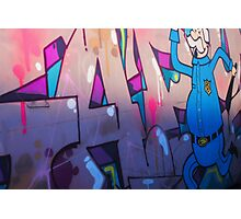 graffiti police!  Photographic Print