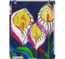 Transparent Lilies (original drawing) iPad Case/Skin