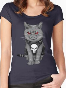 Cat comic Women's Fitted Scoop T-Shirt