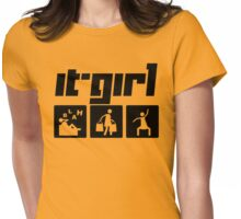 It-Girl Womens Fitted T-Shirt