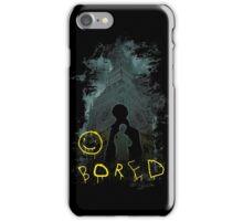 Bored :) iPhone Case/Skin