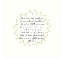Nursery Print - Gender Neutral Quote Art Print