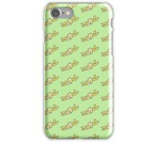 NTH Banana Peel in green iPhone Case/Skin