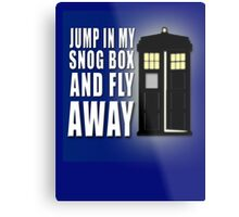 Snog Box Metal Print