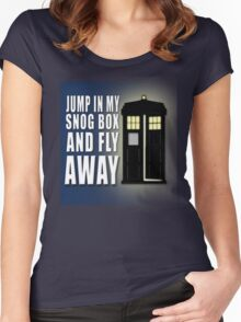 Snog Box Women's Fitted Scoop T-Shirt