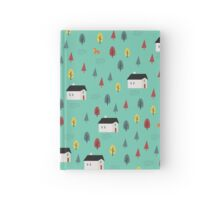 Countryside Pattern Hardcover Journal