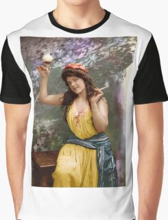 Colorized Fitz Guerin's Lady Liberine 1902 version II Graphic T-Shirt