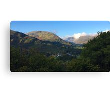 Patterdale Fells in the Lake District National Park, UK Canvas Print