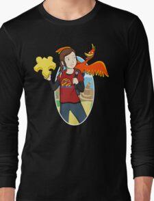 Ellie & Kazooie going on an Adventure. Long Sleeve T-Shirt