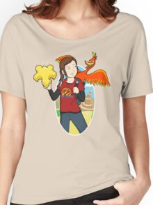 Ellie & Kazooie going on an Adventure. Women's Relaxed Fit T-Shirt