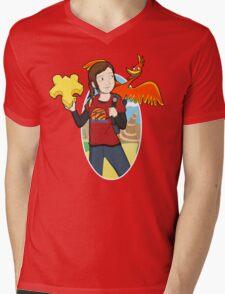 Ellie & Kazooie going on an Adventure. Mens V-Neck T-Shirt