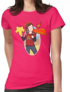Ellie & Kazooie going on an Adventure. Womens Fitted T-Shirt