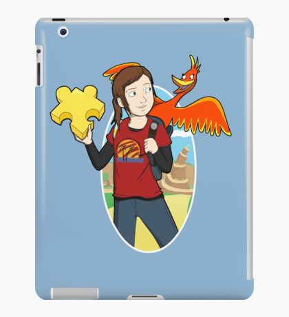 Ellie & Kazooie going on an Adventure. iPad Case/Skin