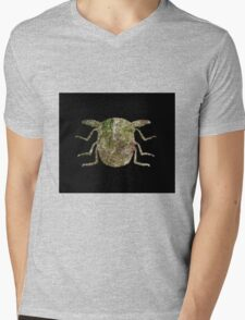 Insect Texture Outline Black 2 Mens V-Neck T-Shirt