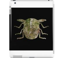 Insect Texture Outline Black 2 iPad Case/Skin
