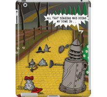 The Dalek Of OZ iPad Case/Skin