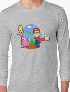 Princess Peach is in da' castle! Long Sleeve T-Shirt