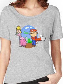 Princess Peach is in da' castle! Women's Relaxed Fit T-Shirt