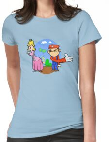 Princess Peach is in da' castle! Womens Fitted T-Shirt