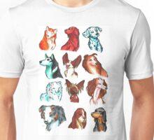 Brush Breeds Compilation Batch 1 Unisex T-Shirt