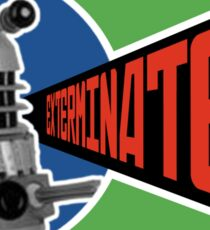 Dalek Deconstructivism Sticker
