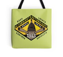 Battleship Dalek 1963 Tote Bag