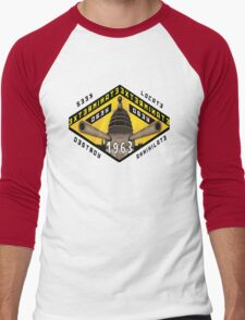Battleship Dalek 1963 Men's Baseball ¾ T-Shirt