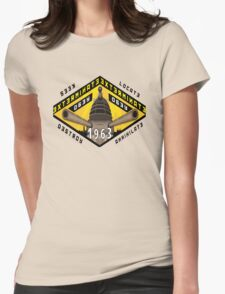 Battleship Dalek 1963 Womens Fitted T-Shirt