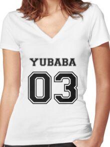 Spirited Away - Yubaba Varsity Women's Fitted V-Neck T-Shirt