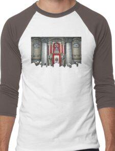 Dalek Pope XVII Men's Baseball ¾ T-Shirt