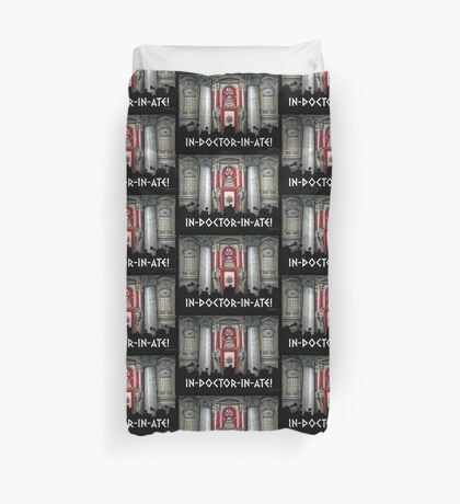 Dalek Pope XVII Duvet Cover
