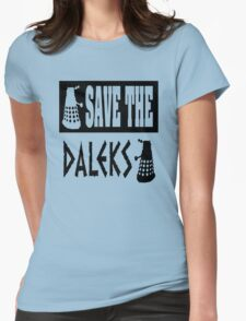 Save the Daleks Womens Fitted T-Shirt