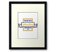 2000 NBA Finals - Indiana Pacers - Framed Print