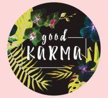 Good Karma Mantra Tropical Flowers Jungle Inverted One Piece - Long Sleeve