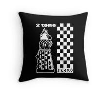 Two Tone Dalek Throw Pillow