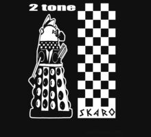 Two Tone Dalek One Piece - Short Sleeve