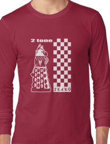 Two Tone Dalek Long Sleeve T-Shirt