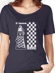 Two Tone Dalek Women's Relaxed Fit T-Shirt