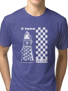 Two Tone Dalek Tri-blend T-Shirt