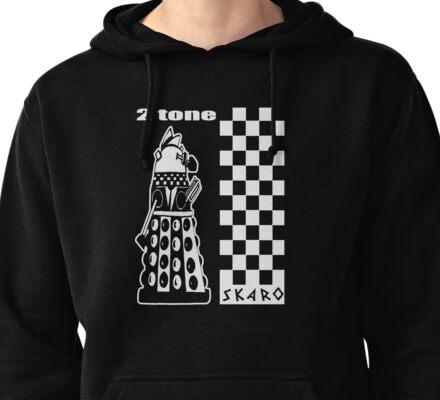 Two Tone Dalek Pullover Hoodie