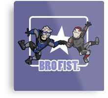 Bro's 4 life - Mass Effect Metal Print