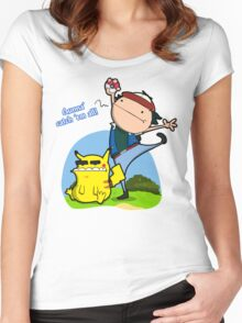Gunna' Catch 'Em All! Women's Fitted Scoop T-Shirt
