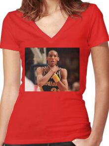 The Knick-Killer Women's Fitted V-Neck T-Shirt