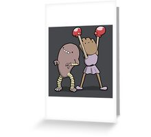 Number 106 and 107 Greeting Card