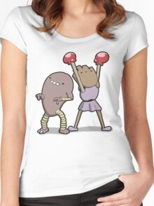 Number 106 and 107 Women's Fitted Scoop T-Shirt