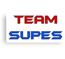 Team Supes Canvas Print