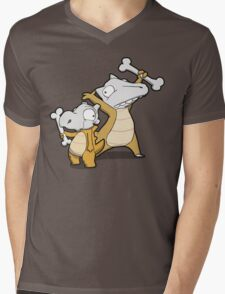 Number 104 and 105 Mens V-Neck T-Shirt
